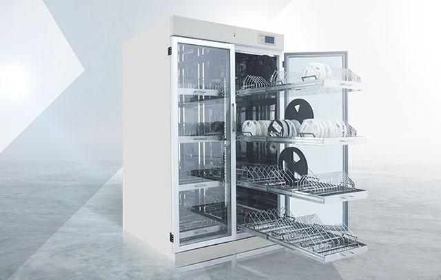 Fully customizable dehumidification dry cabinets