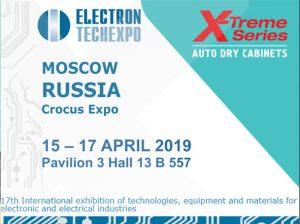 Electron TechExpo 2019 X-Treme Series Dry Cabinets