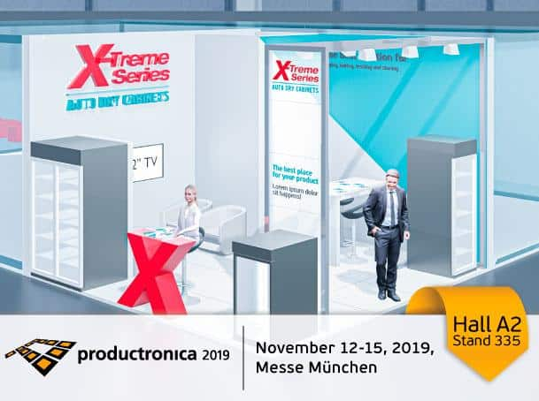 Productronica 2019 X-Treme Series Auto Dry Cabinets