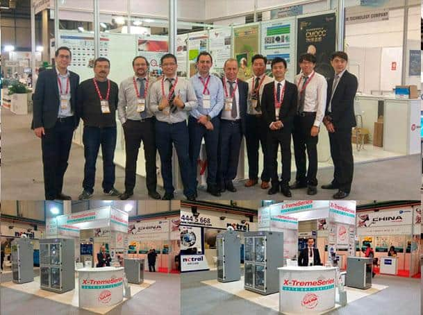 WIN Eurasia - Electrotech 2018 - X-Treme Series Booth and Team
